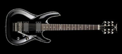 DBZ Guitars Barchetta Eminent Premier Floyd Rose Guitar Black FREE USA SHIPPING!