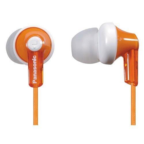 Panasonic RPHJE120D In-Ear Headphone, Orange