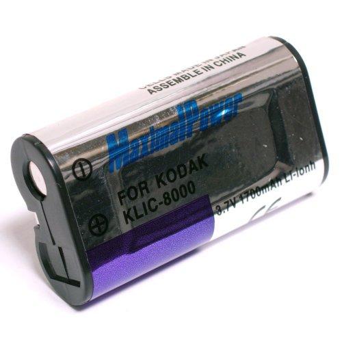 Maximal Power DB KOD KLIC-8000 Replacement Battery for Kodak Digital Camera/Camcorder