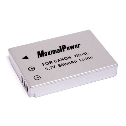 CANON NB-5L Battery for Canon SD700IS, SD790IS, SD800IS, SD850IS, SD870IS, SD880IS, SD890IS, SD900