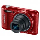 "Samsung WB35F 16.2MP Smart WiFi & NFC Digital Camera with 12x Optical Zoom and 2.7"" LCD Red Refurb"