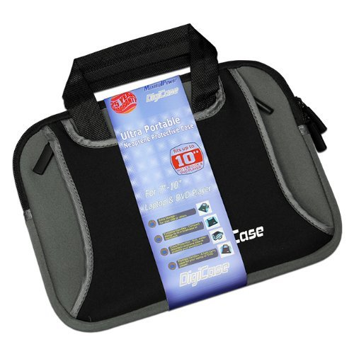 """Neoprene Soft Protective Sleeve for 7-10.1"""" Netbook, Laptops, DVD Players"""