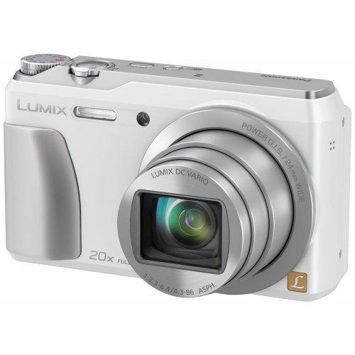 Panasonic DMC-ZS35W Digital Camera with 3.0-Inch TFT LCD White (Refurb)