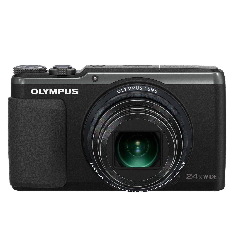 "OLYMPUS SH-60 16MP 24X Long Zoom 3"" LCD Digital Camera"