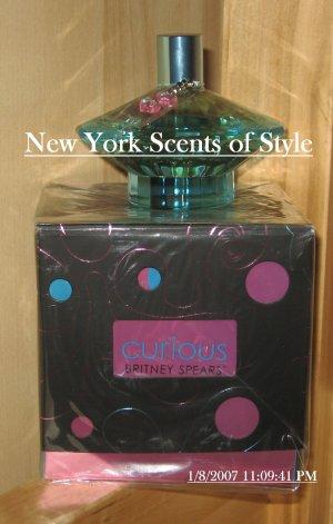 Britney Spears Curious 3.3 oz - Eau de Parfum Spray - (Retail $52.50)