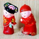 Hand Painted Clay Doll w06045