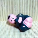 Hand Painted Clay Doll k822
