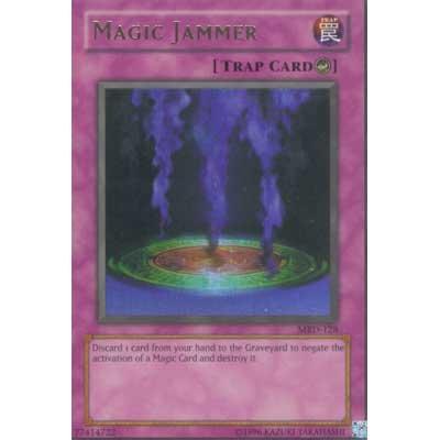 Magic Jammer MRD-128 Trap Card Yu-Gi-Oh Ultra Rare Card