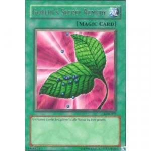Goblin's Secret Remedy LOB-099 Rare Magic Card Yu-Gi-Oh