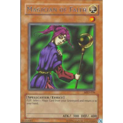 Magician Of Faith MRD-036 Rare Yu-Gi-Oh card