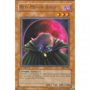 Red-Moon Baby PSV-090 Rare 1st Edition Yu-Gi-Oh Card