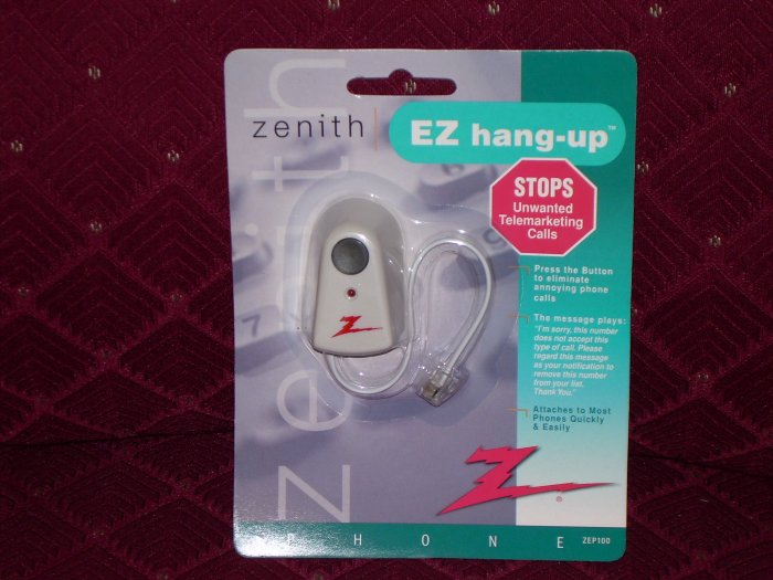 EZ Hang Up for only $5.00 Stop Annoying Telemarketing Calls