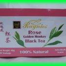 100% NATURAL ROSE GOLDEN MONKEY BLACK TEA - USA SELLER