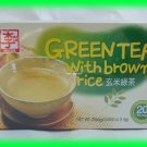 KOREAN NATURAL GREEN TEA WITH BROWN RICE - USA SELLER