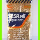 NATURAL SESAME CRISP FLAKES SNACK - USA SELLER