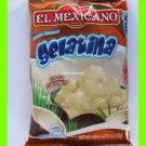 DELICIOUS COCONUT GELATIN DESSERT- EL MEXICANO BRAND