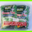DEDE INSTANT GREEN TEA WITH CREAM & SUGAR - 12 PACKS