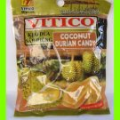 COCONUT DURIAN CANDY - MADE WITH REAL COCONUT & DURIAN