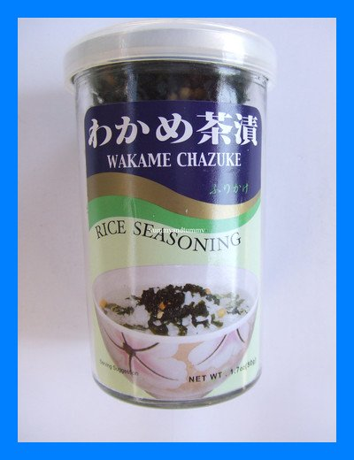 WAKAME CHAZUKE JAPANESE RICE SEASONING - USA SELLER