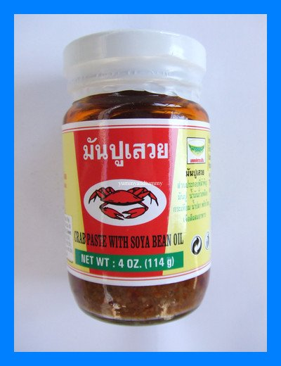 THAI CRAB PASTE WITH SOY BEAN OIL - USA SELLER