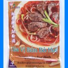 SPICY BEEF BROTH FOR VIETNAMESE NOODLE SOUP - US SELLER