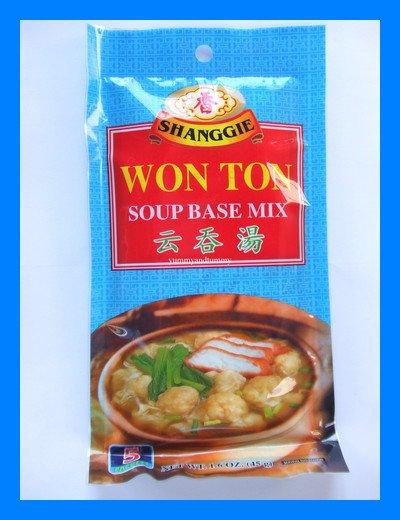 SHANGGIE CHINESE WONTON SOUP BASE MIX - USA SELLER