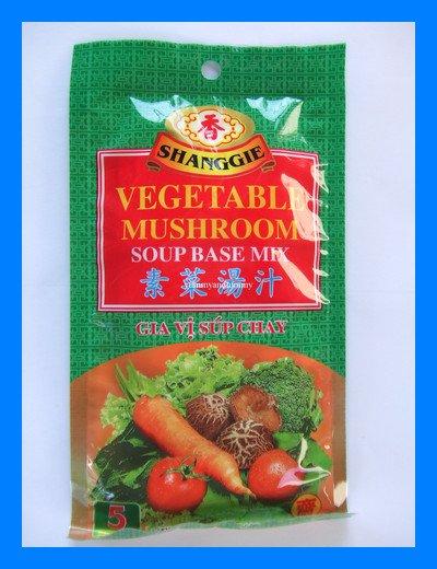 SHANGGIE CHINESE VEGETABLE MUSHROOM SOUP BASE MIX VEGAN