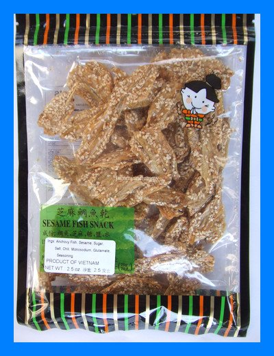 SESAME ANCHOVY FISH VIETNAMESE ASIA SNACK - USA SELLER