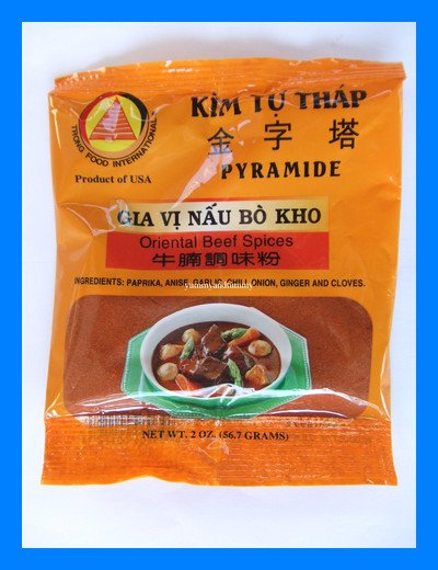 ORIENTAL BEEF SPICES SOUP MIX ALL NATURAL - USA SELLER