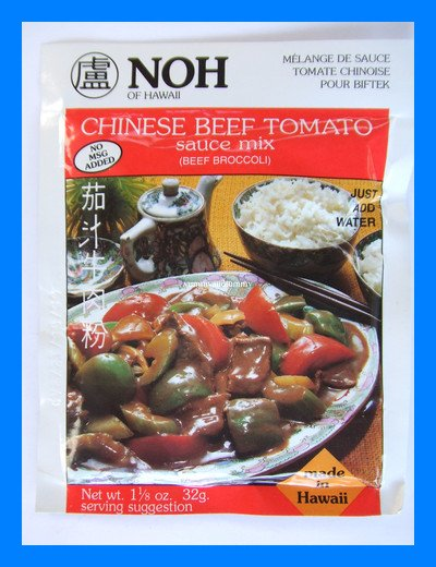 NOH CHINESE BEEF TOMATO SAUCE MIX (OR BEEF BROCCOLI)