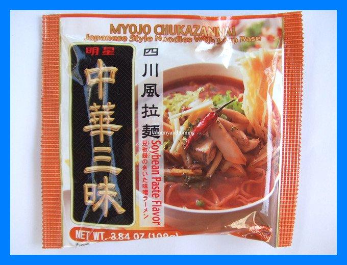 MYOJO JAPANESE STYLE NOODLE SOUP SOYBEAN PASTE FLAVOR