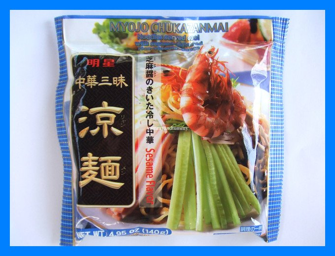 MYOJO JAPANESE NOODLE WITH SESAME RICE-VINEGAR FLAVOR