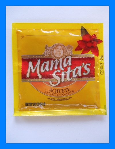 MAMA SITA'S ACHUETE ANNATTO POWDER ALL NATURAL
