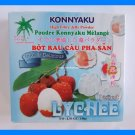 LYCHEE FRUIT ASIAN JELLY DESSERT MIX - USA SELLER