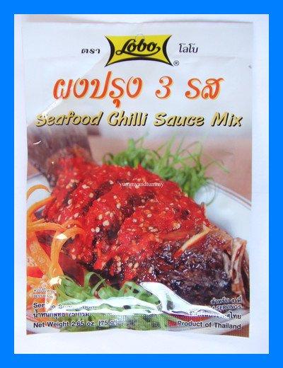 LOBO THAI SEAFOOD CHILLI SAUCE MIX - USA SELLER