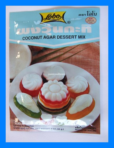 LOBO THAI COCONUT AGAR DESSERT MIX - USA SELLER