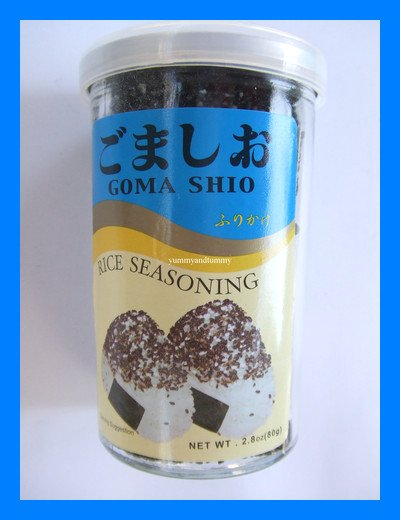 GOMA SHIO JAPANESE RICE SEASONING - USA SELLER
