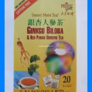 GINKGO BILOBA & RED PANAX GINSENG HERB TEA ALL NATURAL
