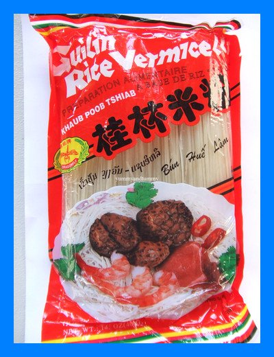 FINE RICE VERMICELLI NOODLES ALL NATURAL - USA SELLER