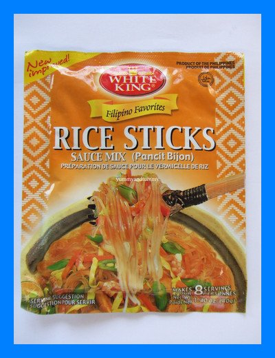 FILIPINO RICE STICKS SAUCE MIX (PANCIT BIJON) - US SHIP