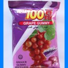 COCOALAND GRAPE GUMMY CANDY -  MADE WITH REAL JUICE