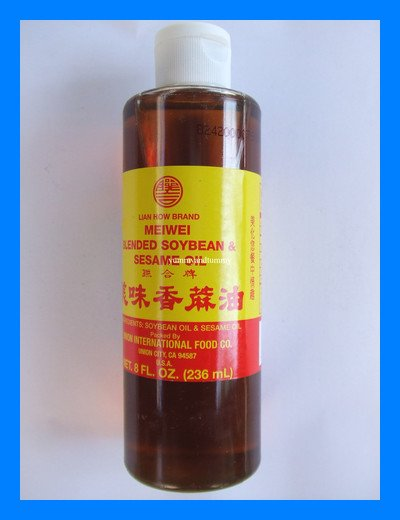 BLENDED SOYBEAN & SESAME OIL ALL NATURAL - USA SELLER