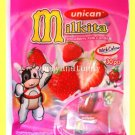 MILKITA STRAWBERRY MILK CANDY WITH CALCIUM 30 PIECES