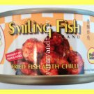 4 Cans Thai Fried Fish with Chili No Preservatives Added - USA Seller