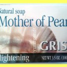 3 BARS NATURAL MOTHER OF PEARL SOAP - LIGHTENS AGE SPOTS AND DARK SPOTS