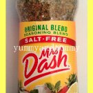 MRS. DASH ORIGINAL BLEND SEASONING, ALL NATURAL, NO MSG, ENHANCE FLAVOR OF FOOD