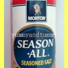 MORTON BRAND SEASON ALL SEASONED SALT - NO MSG - GREAT FOR GRILLING, BBQ, BROIL
