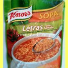 KNORR TOMATO BASED ALPHABET PASTA SOUP MIX  - MAKES 4 SERVINGS - USA SELLER