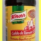 KNORR TOMATO  BOUILLON w/ CHICKEN FLAVOR 7.9 OUNCES -FAT FREE & CHOLESTEROL FREE