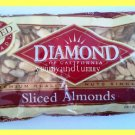 SLICED ALMONDS PREMIUM QUALITY ALL NATURAL - USA SELLER